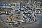 Nypd Prints - NYPD Highway Patrol Print by Andreas Freund