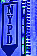 New York City Photos - Nypd by Karol  Livote