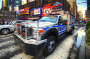 Nypd Photos - NYPD Truck by Yhun Suarez