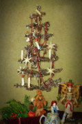 Bisque Ware Art - O Christmas Tree by Teresa Mucha