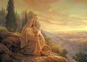 O Jerusalem Print by Greg Olsen