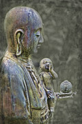 Diety Photos - O-Jizo-Sama  by Karen Walzer