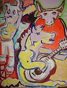 Guitars Paintings - O Palomino by James  Christiansen