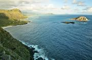 Makapuu Prints - Oahu First Light Print by Steven Sparks