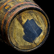 Wine Barrel Photos - Oak Barrel Marked by LeeAnn McLaneGoetz McLaneGoetzStudioLLCcom