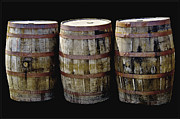 Wine Barrel Photos - Oak Barrel Old Style by LeeAnn McLaneGoetz McLaneGoetzStudioLLCcom