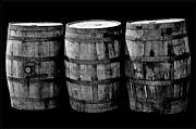 Wine Barrel Photos - Oak Barrel Red Filter by LeeAnn McLaneGoetz McLaneGoetzStudioLLCcom