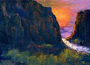 Oak Creek Canyon Print by Gail Kirtz