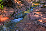 Oak Creek Canyon Prints - Oak Creek Canyon Splendor Print by Sandra Bronstein