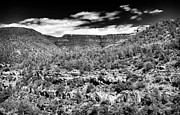 Oak Creek Canyon Prints - Oak Creek Clouds Print by John Rizzuto