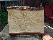 Symbol Reliefs - Oak Tree by Christina White