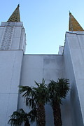 The Church Prints - Oakland California Temple . The Church of Jesus Christ of Latter-Day Saints . 7D11331 Print by Wingsdomain Art and Photography