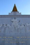 Oakland California Temple . The Church Of Jesus Christ Of Latter-day Saints . 7d11333 Print by Wingsdomain Art and Photography
