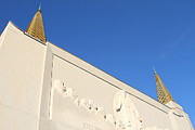 Oakland California Temple . The Church Of Jesus Christ Of Latter-day Saints . 7d11347 Print by Wingsdomain Art and Photography