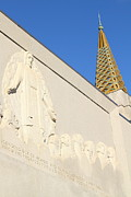 The Church Prints - Oakland California Temple . The Church of Jesus Christ of Latter-Day Saints . 7D11348 Print by Wingsdomain Art and Photography