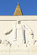 Oakland California Temple . The Church Of Jesus Christ Of Latter-day Saints . 7d11350 Print by Wingsdomain Art and Photography