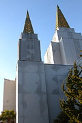 The Church Prints - Oakland California Temple . The Church of Jesus Christ of Latter-Day Saints . 7D11357 Print by Wingsdomain Art and Photography