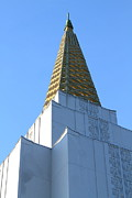 Oakland California Temple . The Church Of Jesus Christ Of Latter-day Saints . 7d11358 Print by Wingsdomain Art and Photography