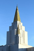 Harold Prints - Oakland California Temple . The Church of Jesus Christ of Latter-Day Saints . 7D11381 Print by Wingsdomain Art and Photography