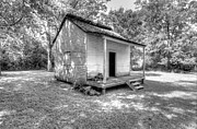 Slaves Photo Framed Prints - Oakley Plantation Slaves Quarters Framed Print by Bourbon  Street