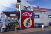 Oakville Grocery Store Napa Valley Print by George Oze