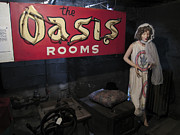Prostitution Prints - Oasis Bordello Basement - Wallace Idaho Print by Daniel Hagerman