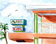 Tampa Painting Originals - Oasis by Clara Sue Beym