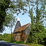Country Cottage Photos - Oast house by Sharon Lisa Clarke