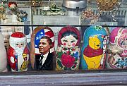 Estonia Originals - Obama Russian Doll 0183 by Charles  Ridgway