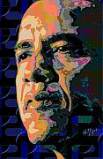 Obama Digital Art Prints - Obama Print by Scott Davis