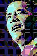 Obama Digital Art Prints - Obama2 Print by Scott Davis
