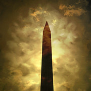 Egyptian Photos - Obelisk. illustration by Bernard Jaubert