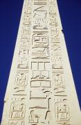 Write Prints - Obelisk Of Tuthmosis Iii And Blue Sky Print by Axiom Photographic