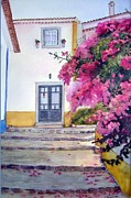 Katherine  Berlin - Obidos and Bougainvilla