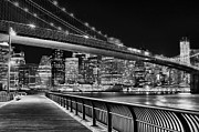 New York City Skyline Photos - Obligatory BW by JC Findley