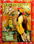 Parisienne Mixed Media Prints - Observation Print by Lynell Withers