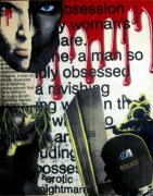 Games Mixed Media Prints - Obsession Print by Nunzio Barbera