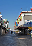 Amusements Photo Prints - Oc Boardwalk Print by Skip Willits