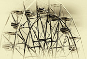 Amusement Ride Posters - OC Ferris Wheel Poster by John Rizzuto