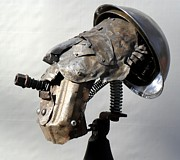 Tools Sculptures - Occupational Hazard by Chris Woodman