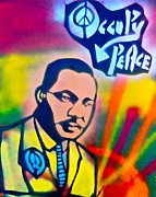 Obama Paintings - Occupy DR. KING by Tony B Conscious