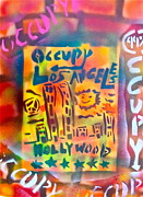 First Amendment Paintings - Occupy Hollywood by Tony B Conscious