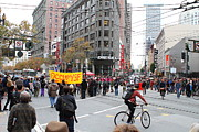Market Street Photos - Occupy Sf . 7D9733 by Wingsdomain Art and Photography