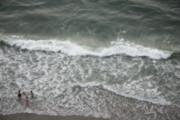 Ocean Breeze 39 Print by Debbie Pippin