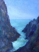 Quin Sweetman Paintings - Ocean Chasm by Quin Sweetman