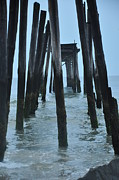 Pier Digital Art - Ocean City 59th Street Pier by Bill Cannon
