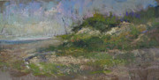 Sand Dunes Pastels - Ocean City Dune by Susan Williamson