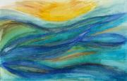 Chakra Drawings - Ocean Dream by Karla Ricker