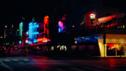Bauhaus Photo Prints - Ocean Drive After Dark Print by Frank Boellmann