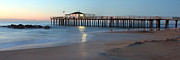 Fishing Pier Prints - Ocean Grove Fishing Pier Print by Jeff Bord